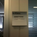 Il mio ufficio nella nuova sede di via San Leonardo 51