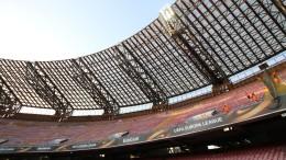 Lo stadio San Paolo di Napoli (foto Ansa.it)