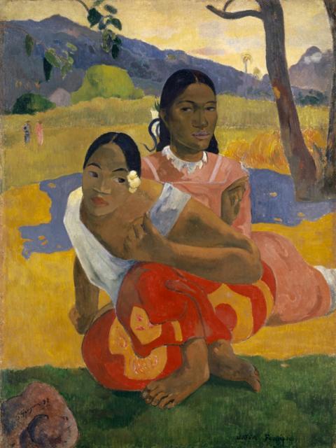 Nafea faaipoipo (When Will You Marry?), Paul Gauguin (1892)