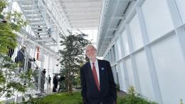 L'architetto Renzo Piano