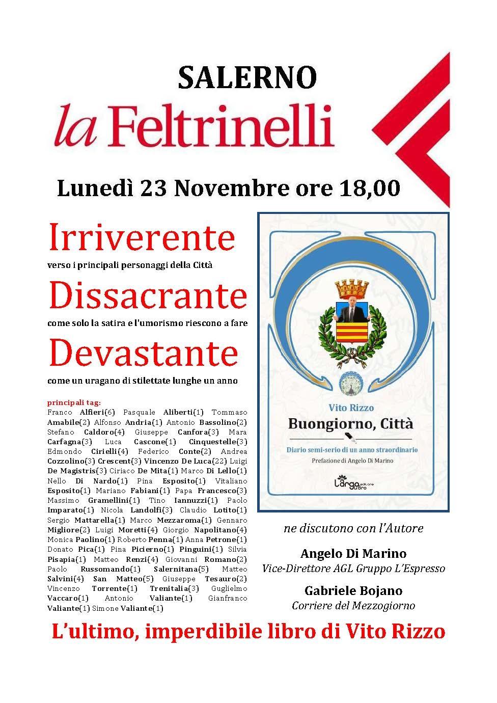Salerno Alla Feltrinelli Presentazione Del Libro