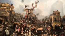 Presepi in esposizione al museo di San Martino a Napoli