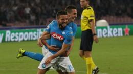 Napoli-Benfica 4-2