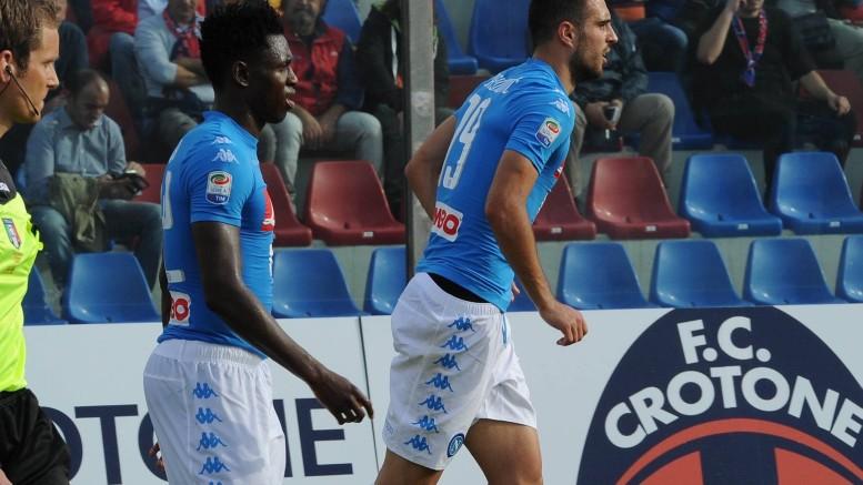 Crotone-Napoli 1-2
