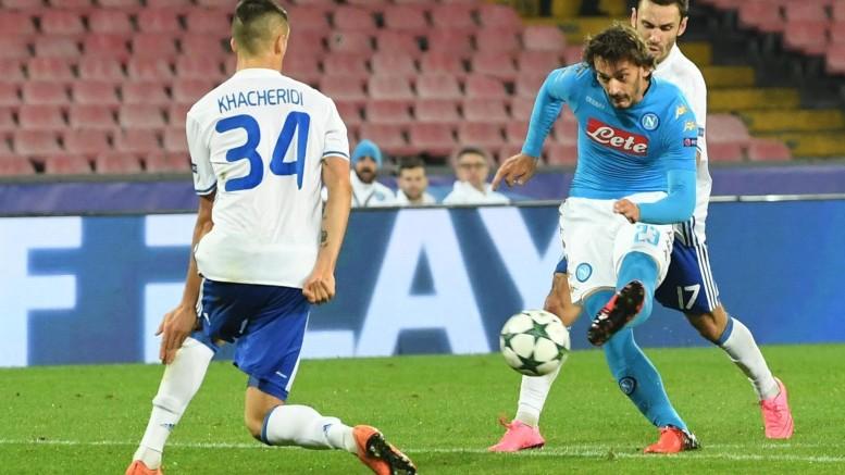 Napoli-Dinamo Kiev 0-0