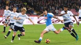 Napoli-Lazio 1-1