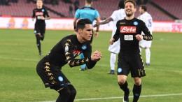 Coppa Italia: Napoli-Fiorentina 1-0