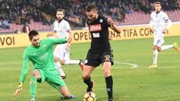 Coppa-Italia: Napoli-Fiorentina 1-0