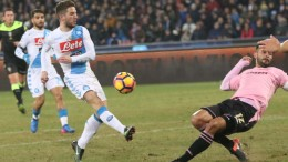 Napoli-Palermo 1-1
