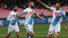 Napoli-Pescara 3-1
