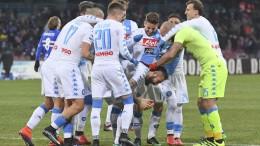 Napoli-Sampdoria 2-1
