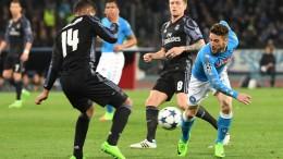 Champions League: Napoli-Real Madrid 1-3