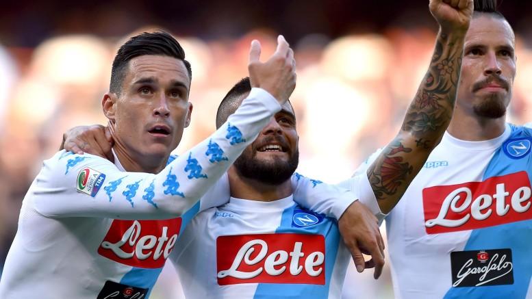 Sampdoria-Napoli 2-4