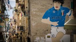 Cittadinanza onoraria a Maradona