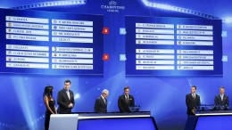 Champions League: i sorteggi