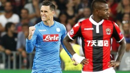 Champions League: Nizza-Napoli 0-2