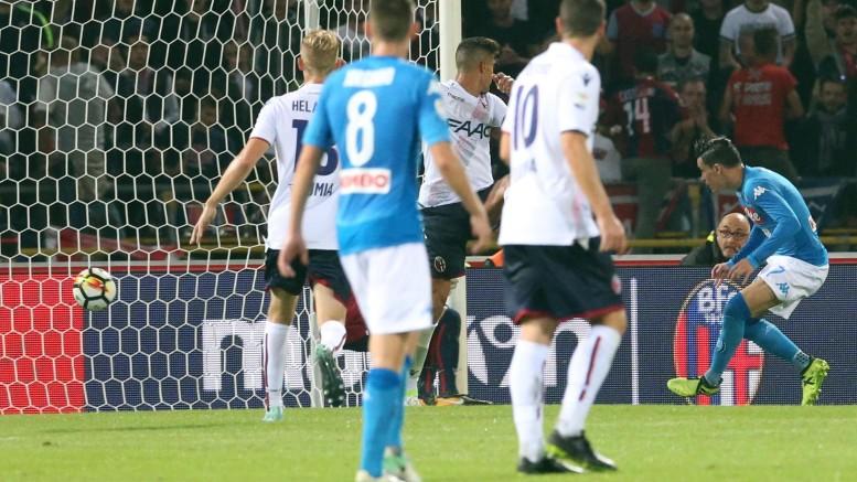 Bologna-Napoli 0-3