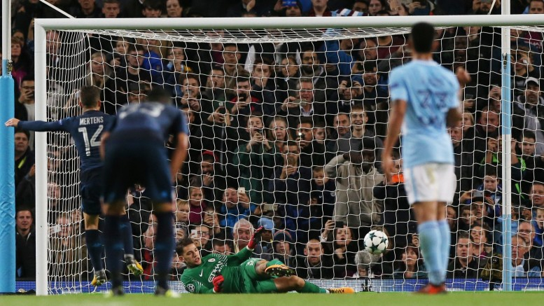 Champions League: Manchester City-Napoli 2-1