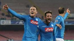 Champions league; Napoli-Shakhtar Donetsk 3-0
