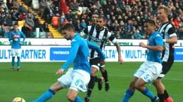 Udinese-Napoli 0-1