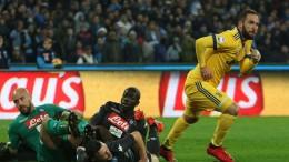 Napoli-Juventus 0-1