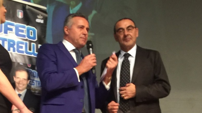 Trofeo Maestrelli a Sarri