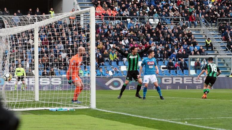 Sassuolo-Napoli 1-1