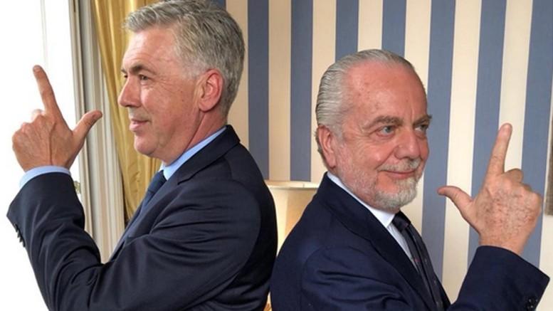 Ancelotti nuovo allenatore del Napoli