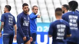 Italia-Bosnia: il cittì Mancini