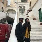"""Le riprese del film """"Bheeshma"""" in Costa d'Amalfi: i due attori protagonisti"""
