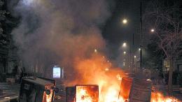 Napoli: scontri e tafferugli nella prima notte di coprifuoco