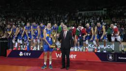 Pallavolo maschile: Italia campione d'Europa batte Slovenia in finale