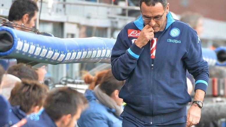 Maurizio Sarri  (foto Ansa)