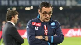 Maurizio Sarri, tecnico del Napoli
