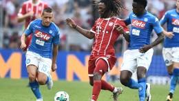Audi Cup: Bayern Monaco-Napoli