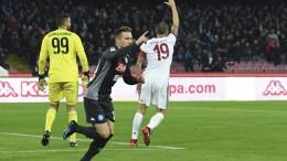 Napoli-Milan 2-1