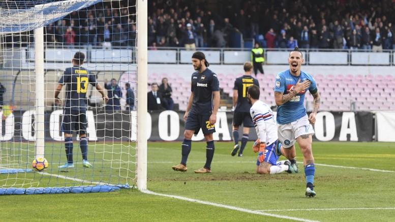 Napoli-Sampdoria 3-2