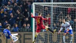 Sampdoria-Roma 1-1