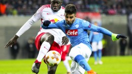 Europa League: Lipsia-Napoli 0-2