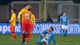 Benevento-Napoli 0-2