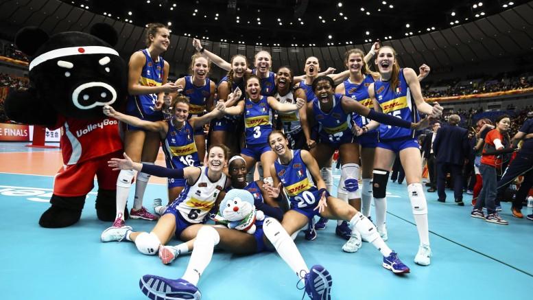 Italia seconda ai Mondiali donne