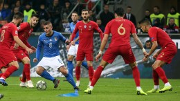 Nations League: Italia-Portogallo 0-0