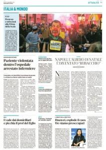 Messaggero Veneto di sabato 8 dicembre 2018